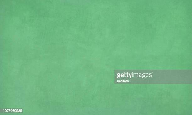 emerald green colored scratched effect bright wall texture vector background- horizontal - illustration of a green chalk board, chalkboard - green colour stock illustrations