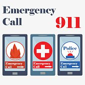 911, Emergency call sign, Plus Sign, Red Cross, police