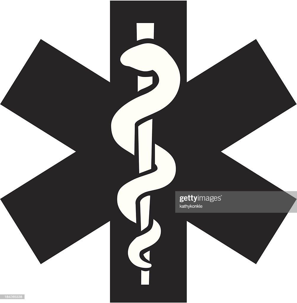 Emergency Medical Technician Symbol Vector Art Getty Images