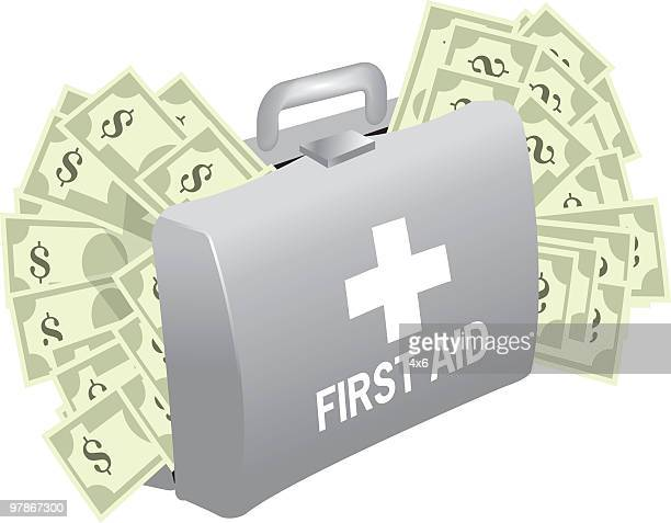emergency money - money to burn stock illustrations, clip art, cartoons, & icons