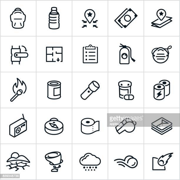 Emergency Preparedness Icons
