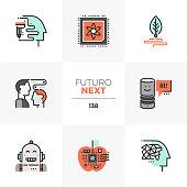 Emerging Technologies Futuro Next Icons