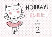emilie ballerina cat