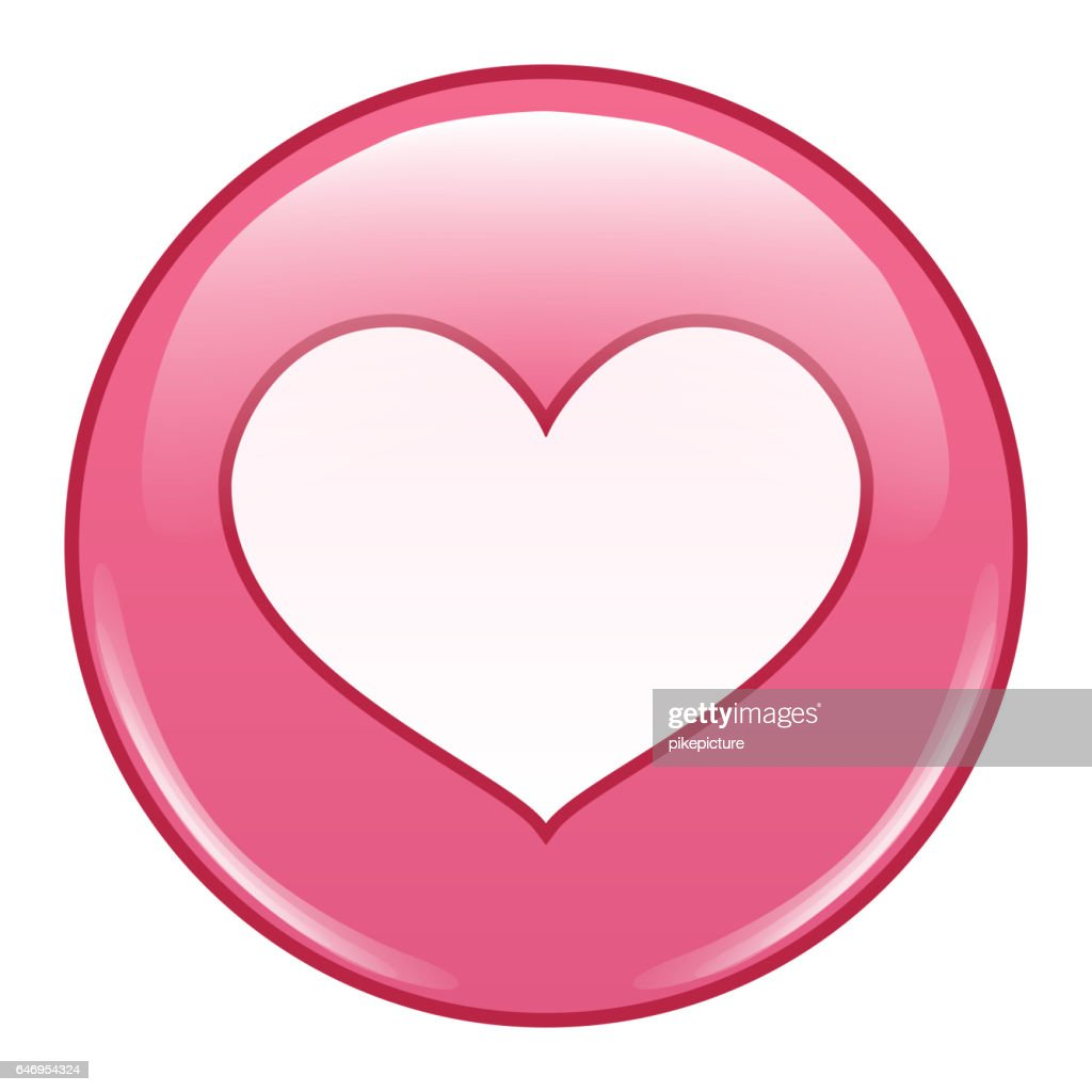 Emoji Emoticon Icon Vector. Emoji In love. Emotion Of Happiness