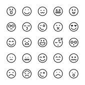 Emoji Icon Icons - MediumX Line
