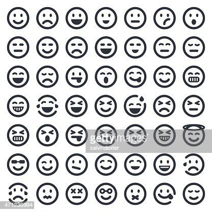 Emoji Icons Set 1 49ers Series Vector Art Getty Images