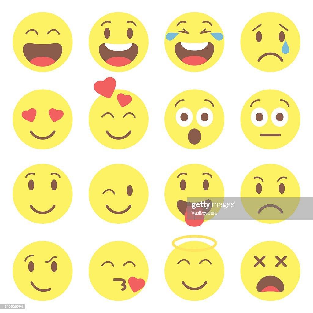 Emoji set icons