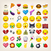 Emojis and emoticons