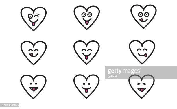 Emojis heart 9