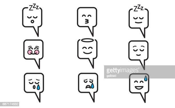 Emojis set 10