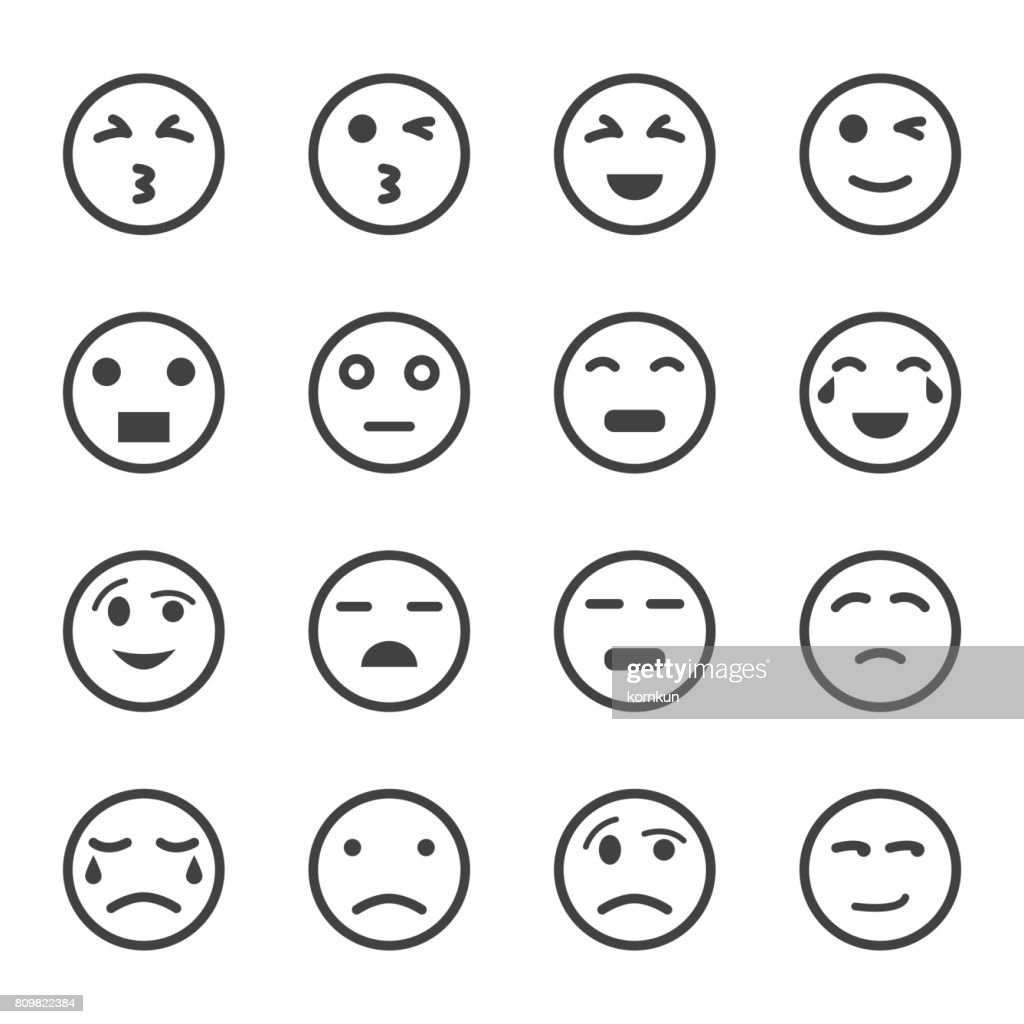 emoticon set, emoji set,vector set, icons