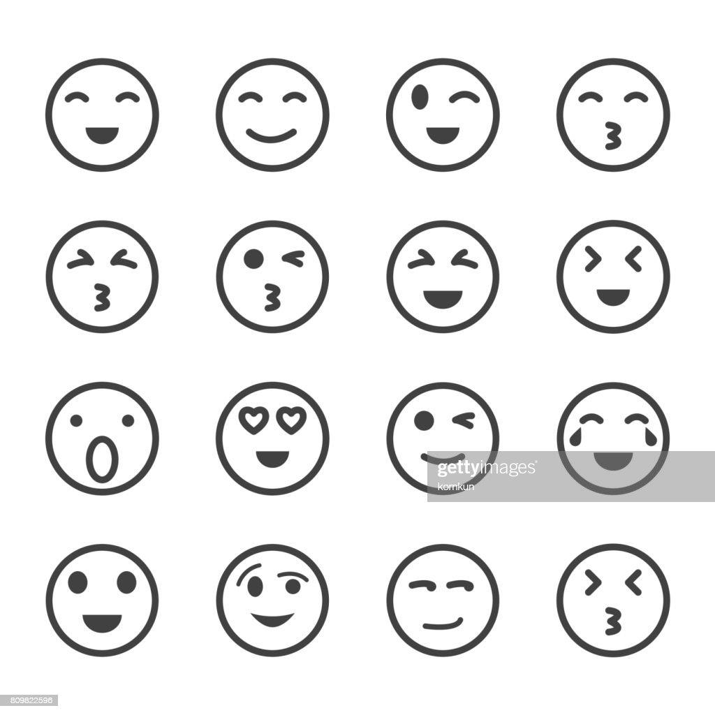 emoticon set, emoji set,vector set, icons