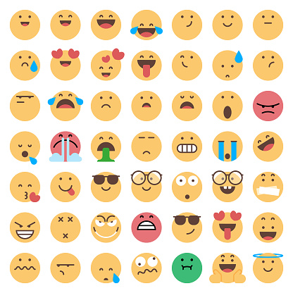 Emoticons collection - gettyimageskorea
