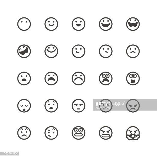 Emoticons cute set 1