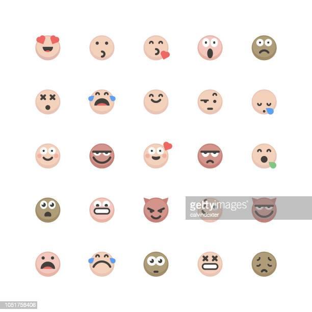 Emoticons cute set 3