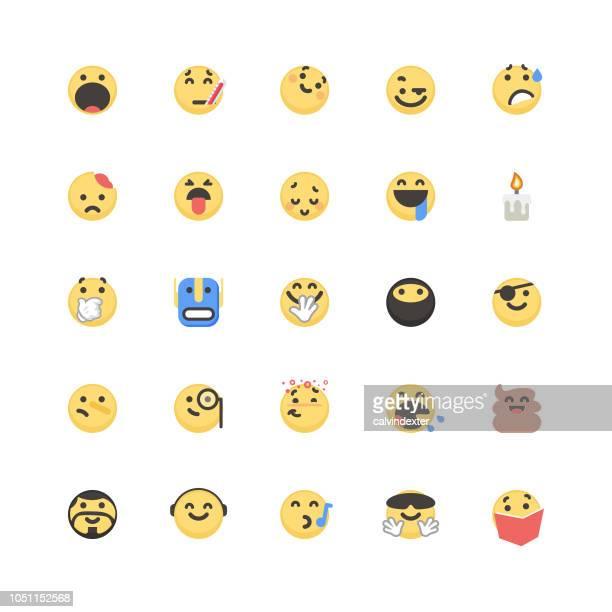 Emoticons cute set 6