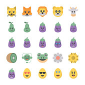 Emoticons Icons Set