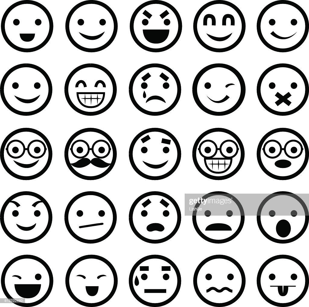 Emoticons - Illustration