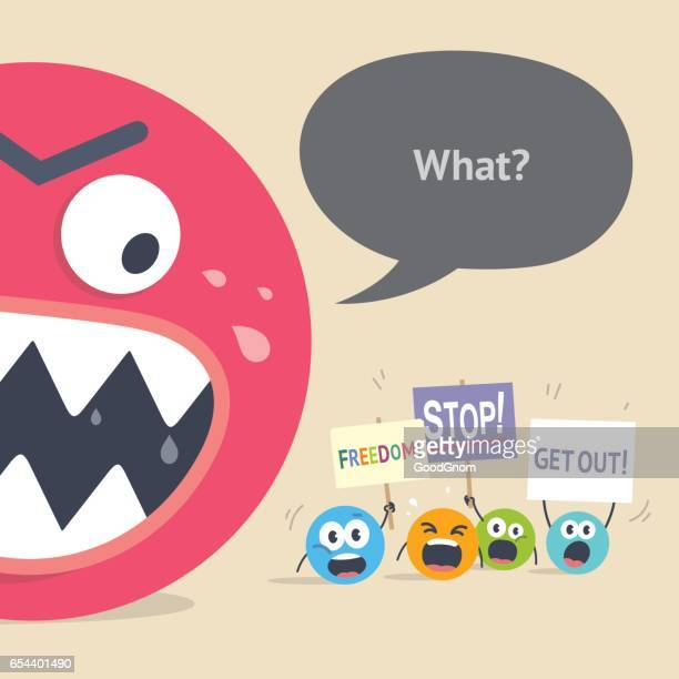 Emoticons protest