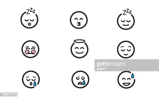 Emoticons set 10