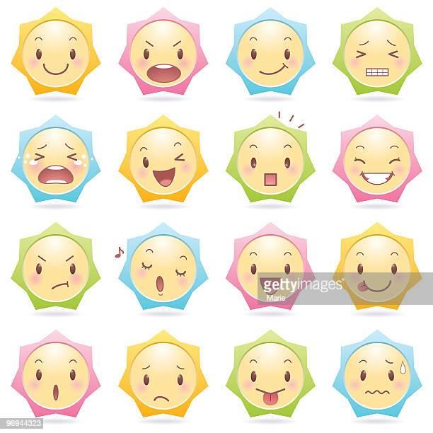 Emoticons_star shape