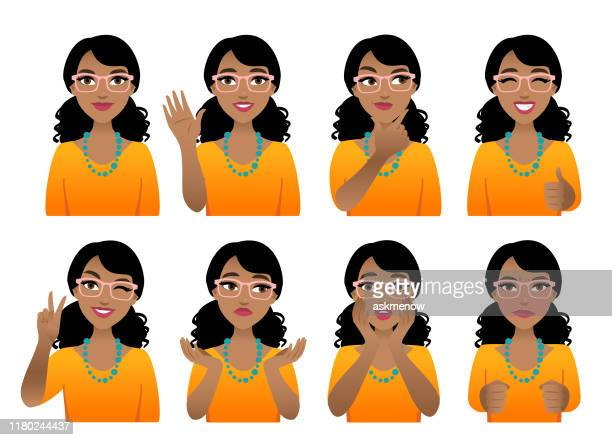 emotions - mid adult stock illustrations