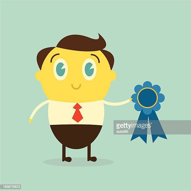 Top Employee Of The Month Stock Illustrations Clip Art