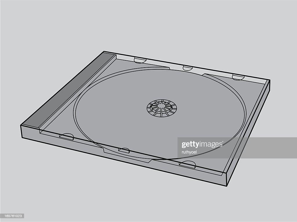 empty CD case (jewel box)