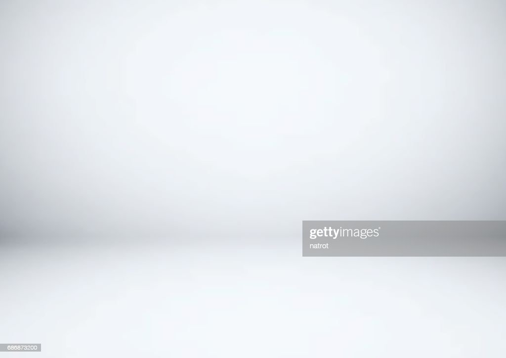 Empty gray studio room, used as background for display your products