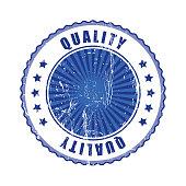 Empty  Quality Stamp.