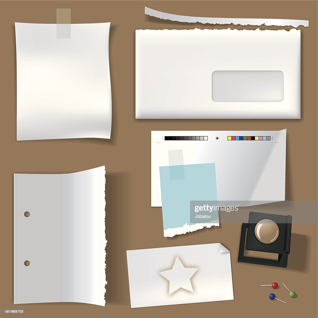 Empty Space Elements : stock illustration