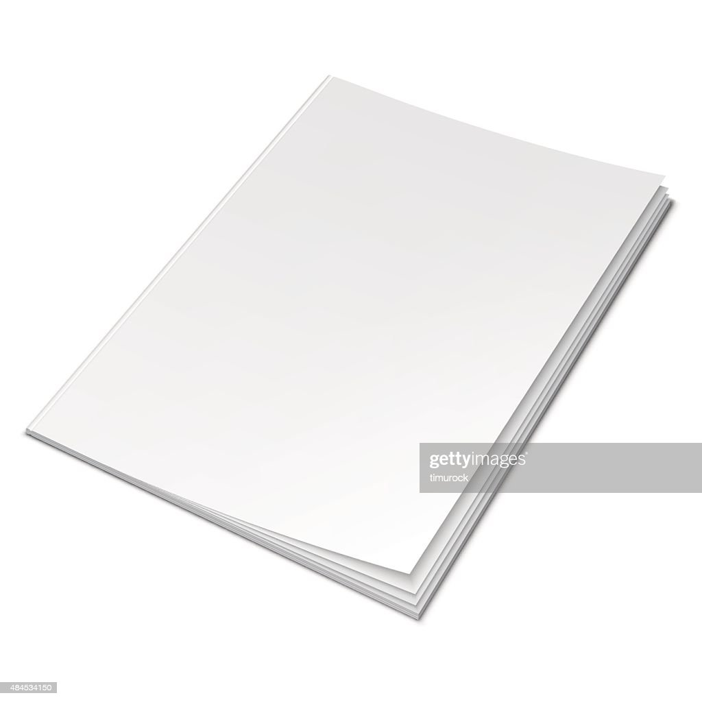 Empty White Book
