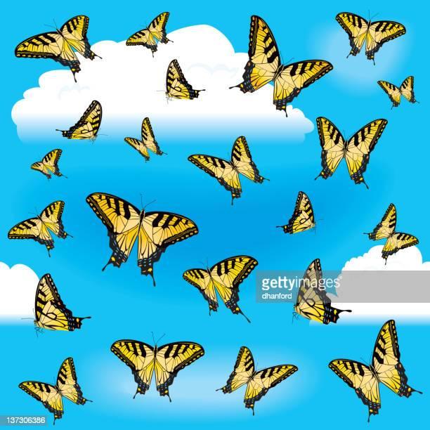 Endless butterflies