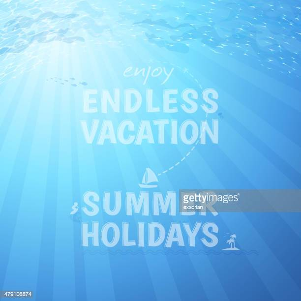 Endless vacation background