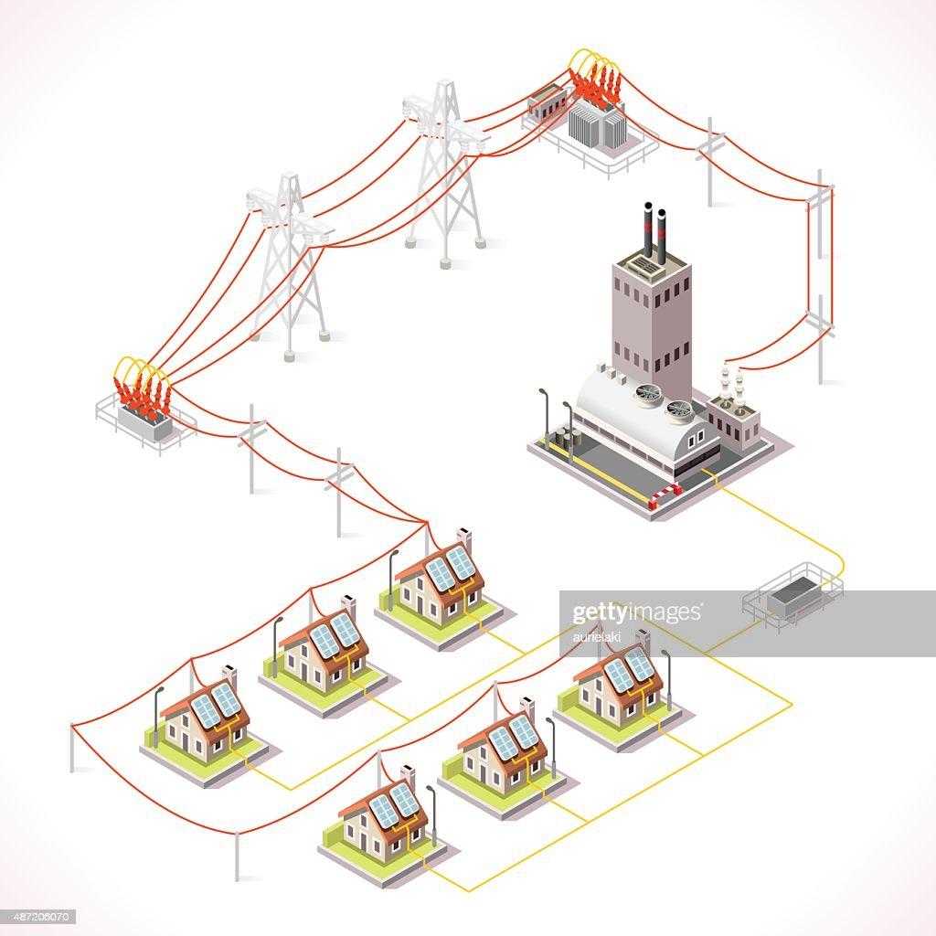 Energy 13 Infographic Isometric
