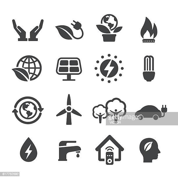 Energy and Eco Icons - Acme Series