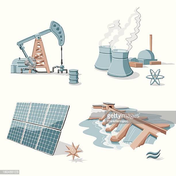 Energy Clip Arts
