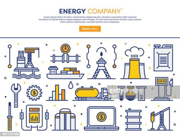 energy company concept - petrol stock illustrations, clip art, cartoons, & icons