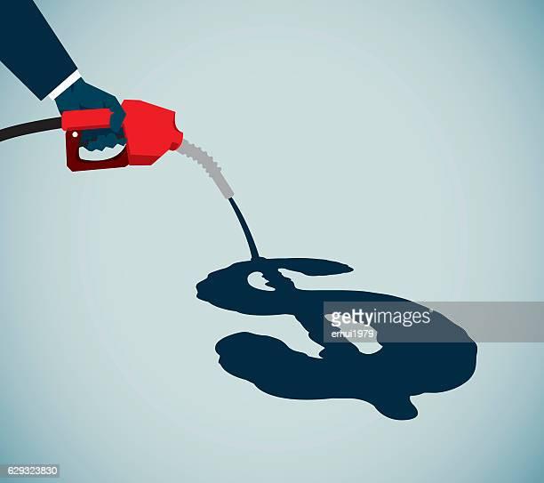 ilustrações, clipart, desenhos animados e ícones de crise de combustível - fábrica petroquímica
