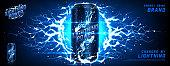 Energy drink ads banner