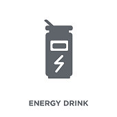Energy drink icon from Drinks collection.