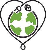 Energy icon vector symbol