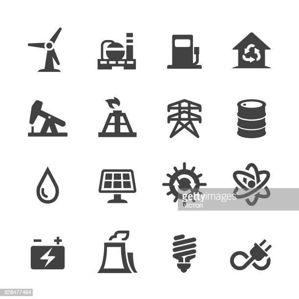 Ícones de energia-Acme série