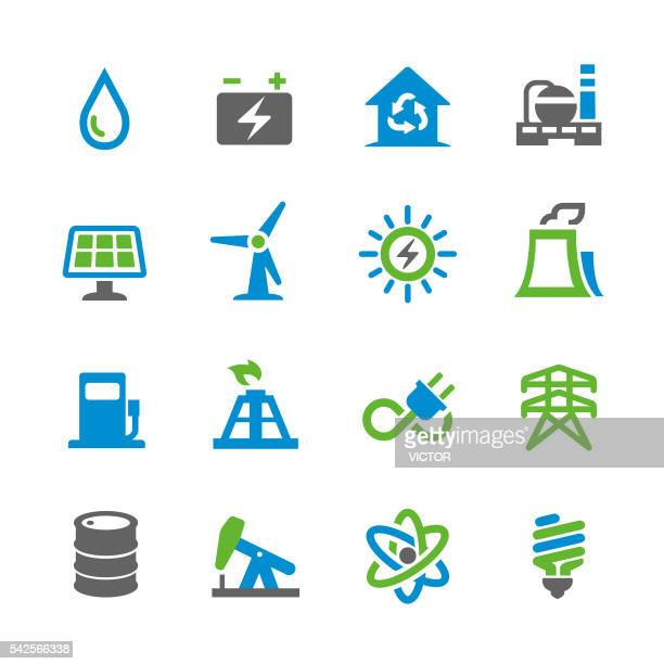 Energy Icons - Spry Series