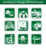 energy saving house energy save house build heat