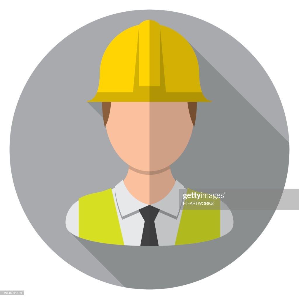Engineer icon : stock illustration