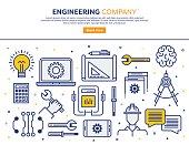 Engineering Company Concept