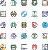 Engineering Cool Vector Icons 1