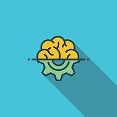 Engineering Thinking Flat Icon