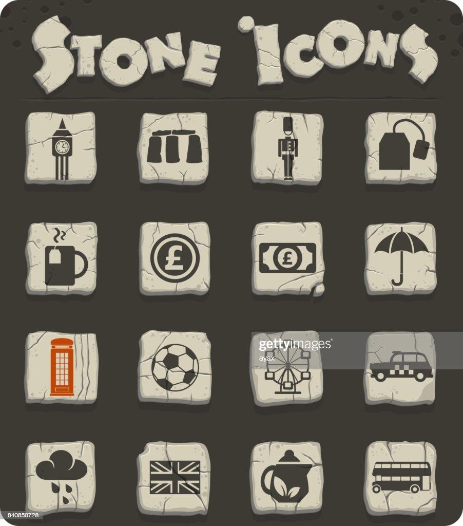 england icon set